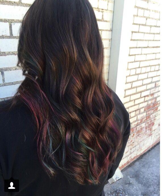 Trendy Ideas For Hair Color Highlights Oil Slick Hair I Want