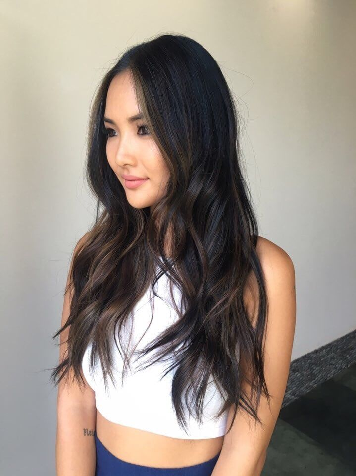 Photo of MARE.LA - Santa Monica, CA, United States. Subtle Ombre on Asian hair