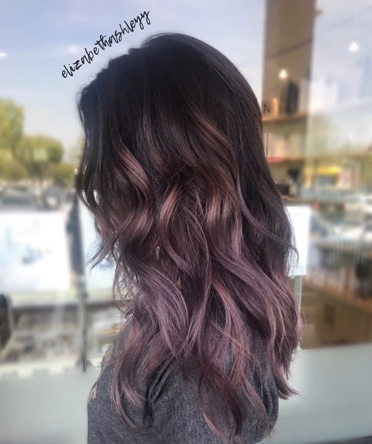 Trendy Ideas For Hair Color Highlights Purple Balayage