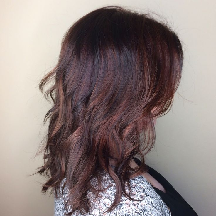 Trendy Ideas For Hair Color Highlights Rose Gold Hair Balayage Lob