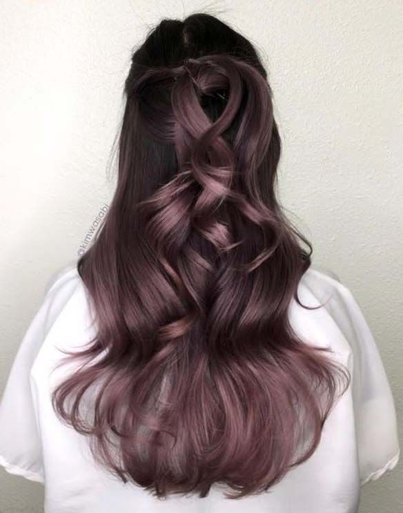 The star among hair color trends this year,