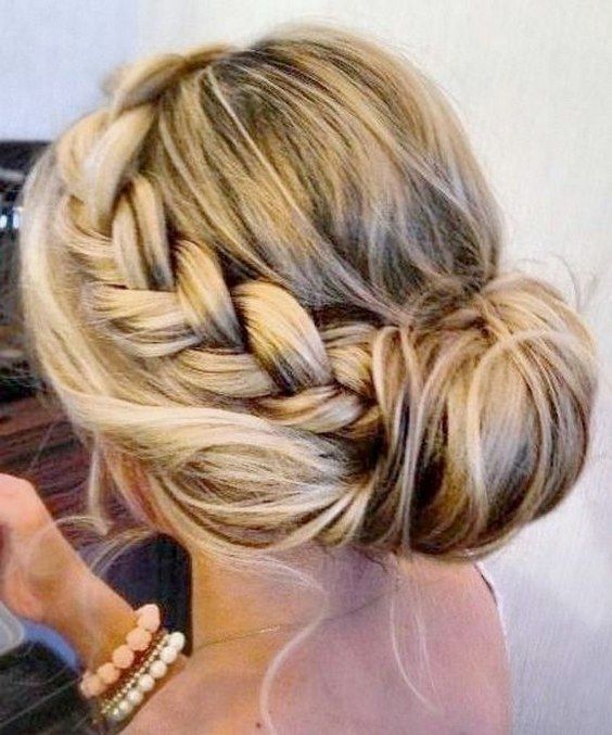 Wedding Hairstyles : Easy Braided Updo Hairstyle / www.himisspuff.co ...