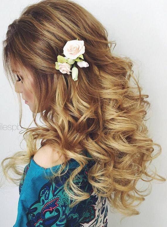 Elstile wedding hairstyles for long hair 16 - Deer Pearl Flowers / www.deerpearl...