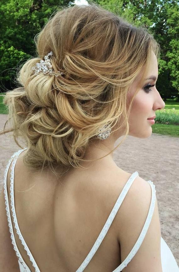 Elstile wedding hairstyles for long hair 20 - Deer Pearl Flowers / www.deerpearl...