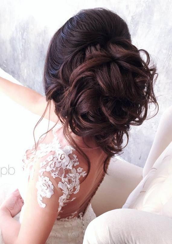 Elstile wedding hairstyles for long hair 24 - Deer Pearl Flowers / www.deerpearl...