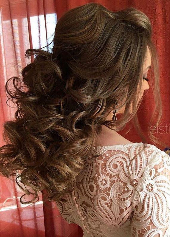 Elstile wedding hairstyles for long hair 32 - Deer Pearl Flowers / www.deerpearl...
