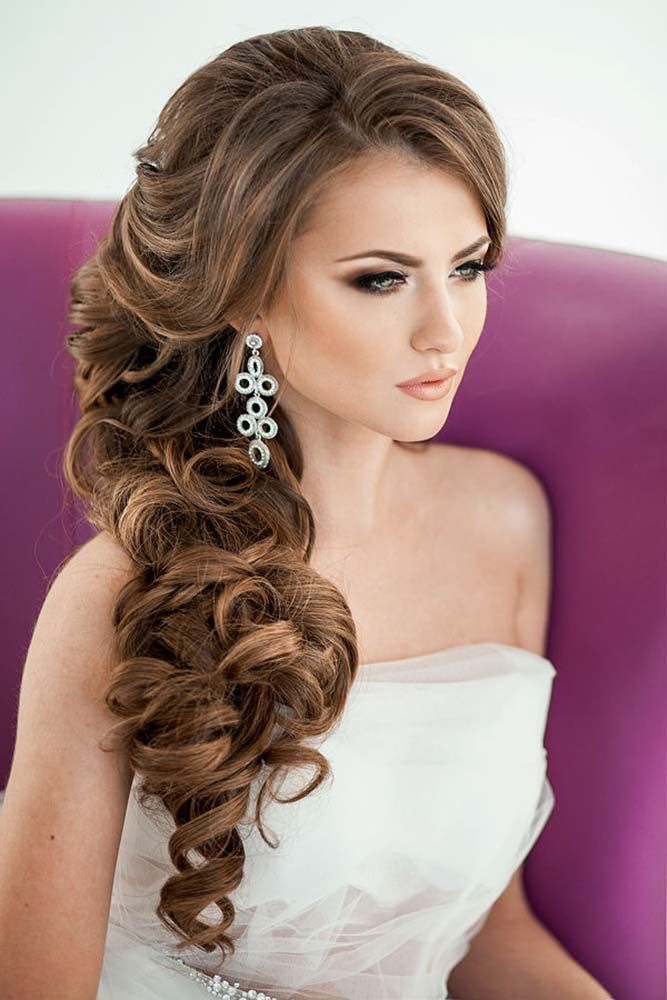 Bridal Hairstyles 45 Best Wedding Hairstyles For Long Hair 2018
