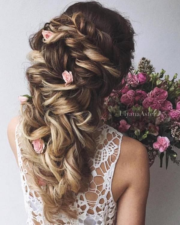 Wedding Updo Hairstyles for Long Hair from Ulyana Aster_28 ❤ See more: www.dee...