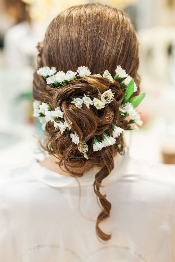Wedding hairstyle ideavia Landon Hendrick Photography - Deer Pearl Flowers / www...