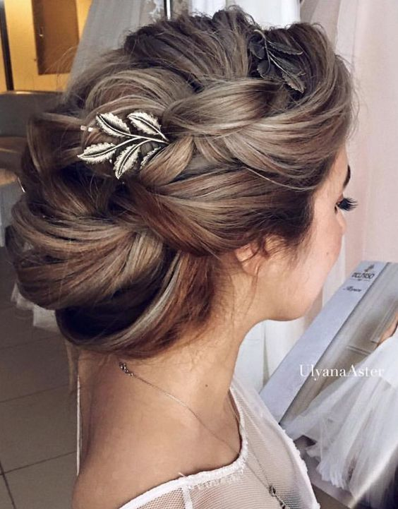 Bridal Hairstyles Wedding Updo Hairstyle Idea 6 Via Ulyana Aster