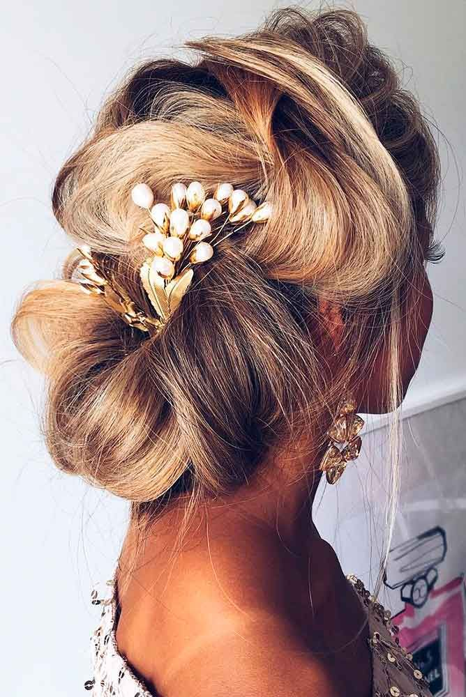 Bridal Hairstyles : Best Wedding Hairstyle Trends 2017 ❤ This ...