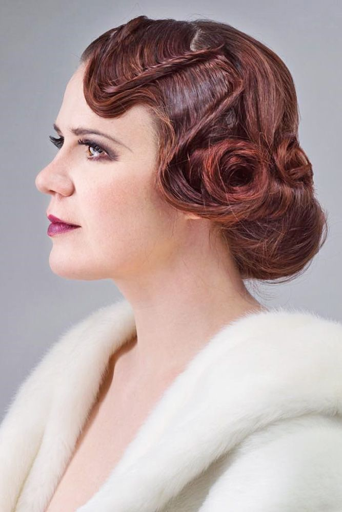 Bridal Hairstyles 24 Utterly Gorgeous Vintage Wedding Hairstyles