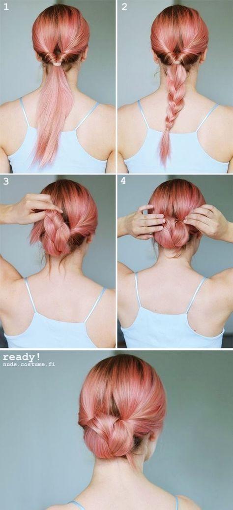 La plupart de ces tutoriels coiffures sont très très faciles à faire. Il suff...