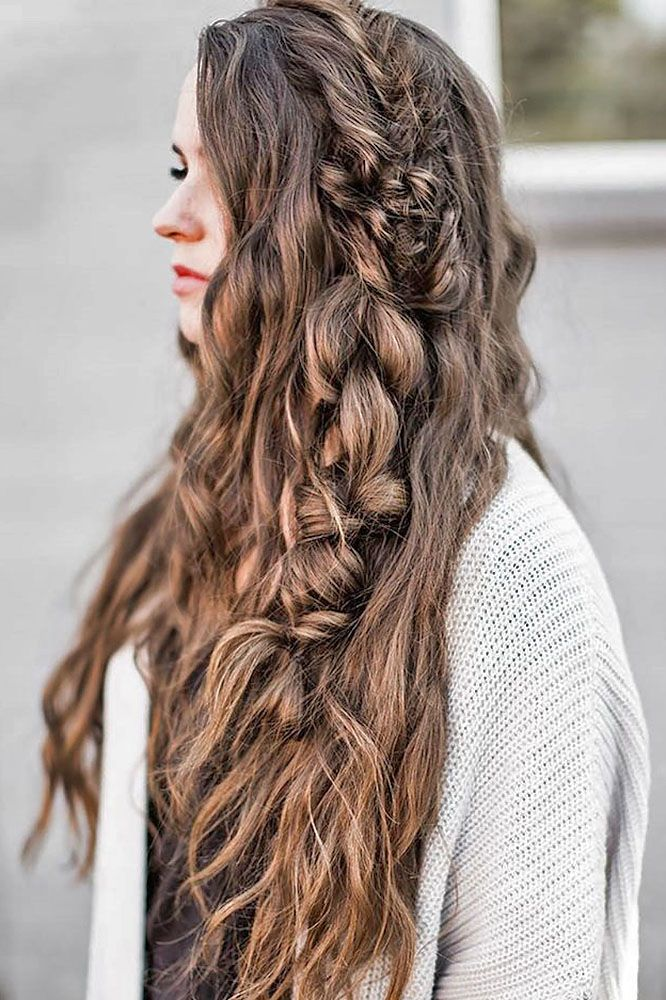 18 Modish Ombre Wedding Hairstyles ❤ See more: www.weddingforwar... #weddings ...