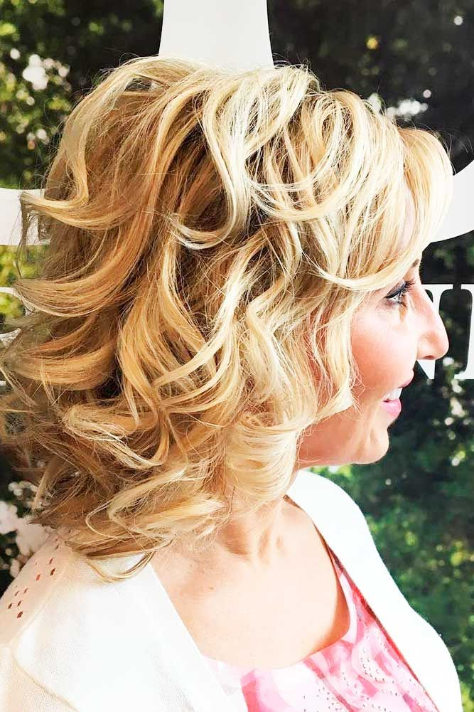 24 Mother Of The Bride Hairstyles See More Www Weddingforwar