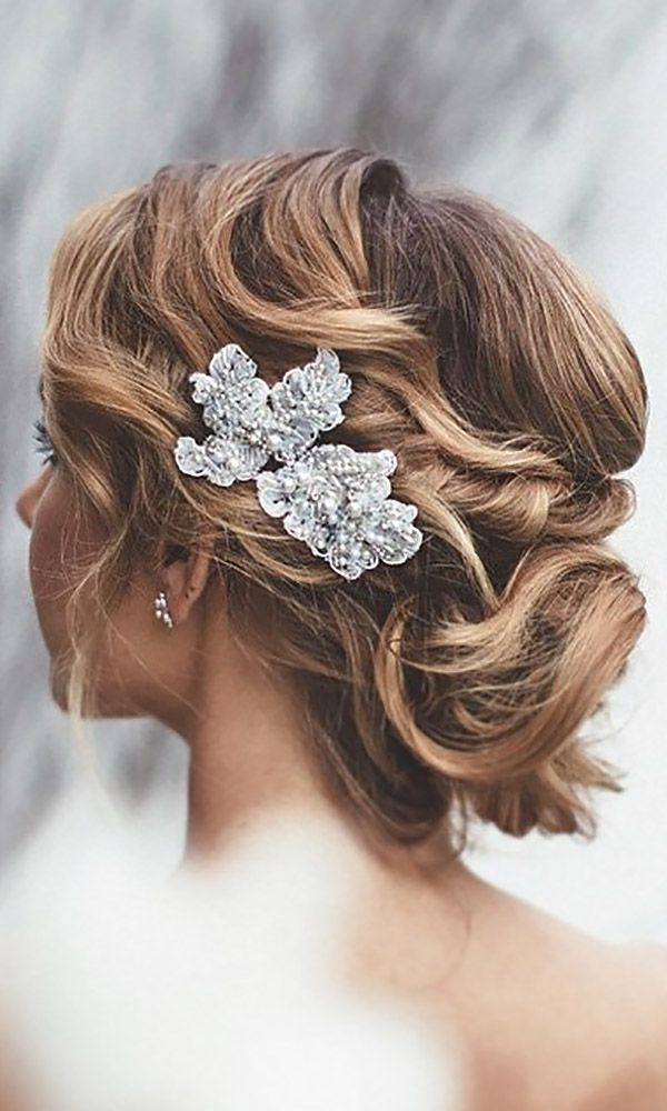 Bridal hairstyles 30 short wedding hairstyle ideas so good youd bridal hairstyles 30 short wedding hairstyle ideas so good youd want to cut your hair if your beauty haircut home of hairstyle ideas junglespirit Image collections