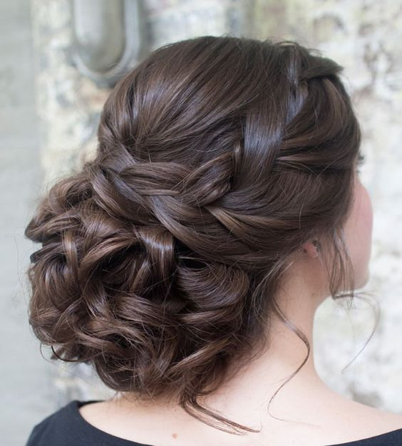 Wedding Hairstyles : Featured Hairstyle: Hair and Makeup by Steph ...