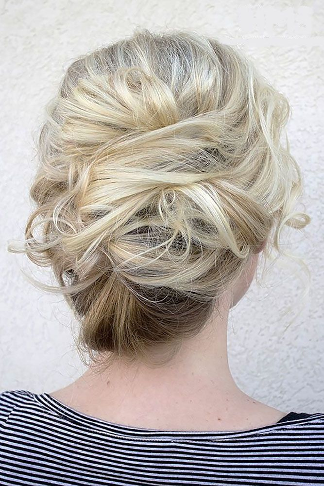 Bridal Hairstyles : 18 Chic And Easy Wedding Guest Hairstyles ❤ See ...