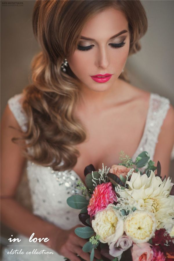 Retro Wedding Hairstyles and Updos 5