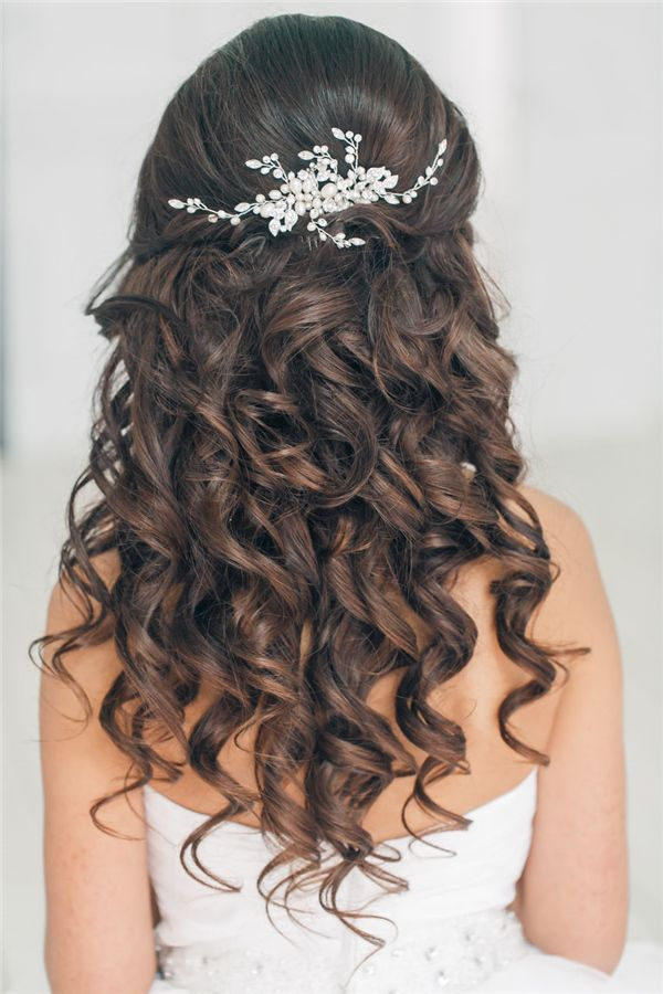 Bridal Hairstyles Half Up Half Down Wedding Hairstyles For Long
