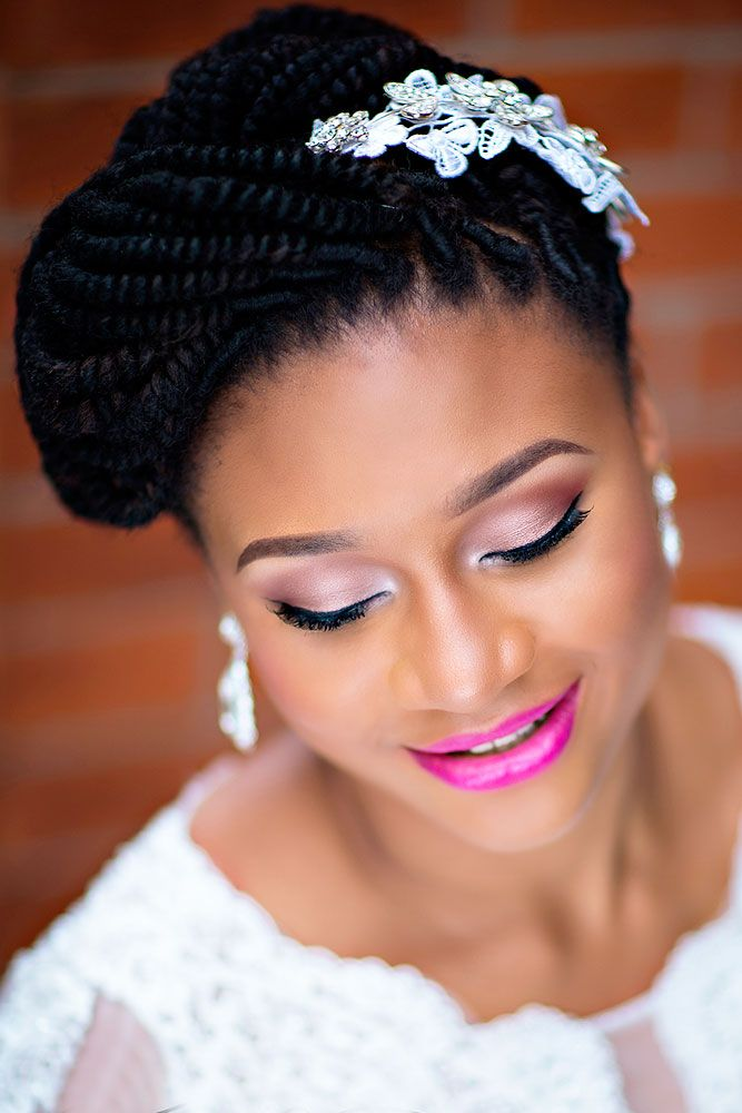 Bridal Hairstyles 18 Black Women Wedding Hairstyles See More
