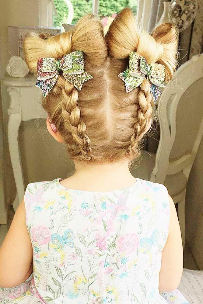 Bridal Hairstyles : 27 Cute Flower Girl Hairstyles ❤ See more: www ...