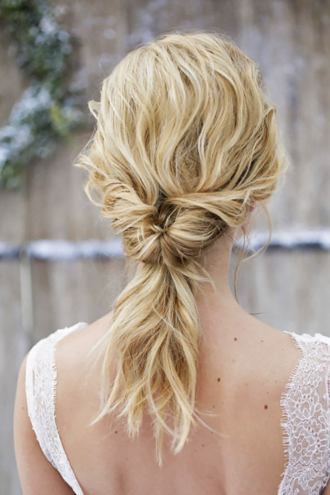 18 Party Perfect Pony Tail Hairstyles For Your Big Day ❤ See more: www.wedding...