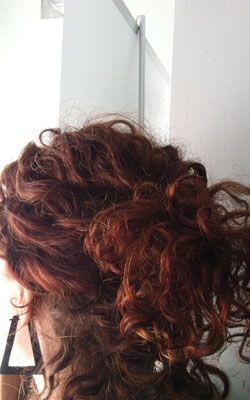 Naturally curly / #hair