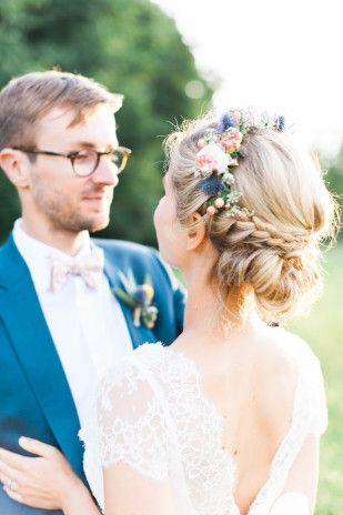 Un mariage champêtre et coloré au château Giscours, Médoc - La mariée aux p...