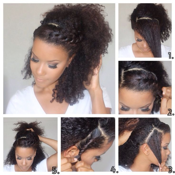 10 Easy Hairstyles For Naturally Curly Hair