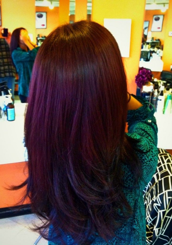 ... Plum Color Hair For Fall, 2013 fall hair color trends ~ Find My Hair
