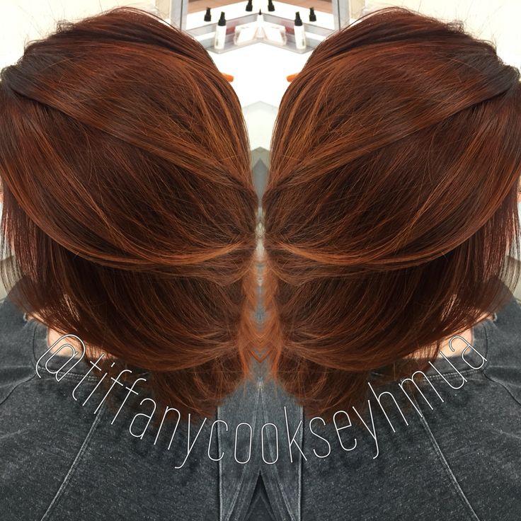 Red Hair Color Autumn Color Fall Color Auburn Hair Copper Hair