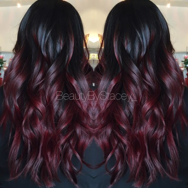 dark red ombre hair hair color ideas and styles for 2018