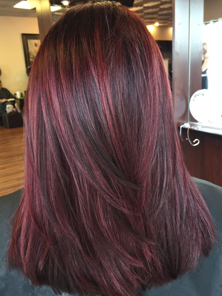 Red Hair Color Reds Lowlights Dimensional Red Beauty Haircut