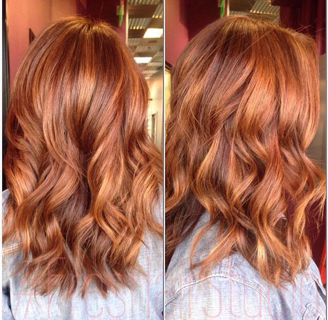Trendy Hair Style : Sunkissed apricot #balayage