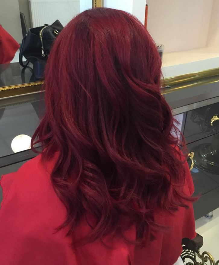 dark red hair color ideas 12 New Red Hair Color Styles – 2016 | Blonde Balayag...