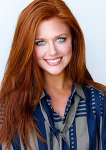 gorgeous red hair color! If only I had blue or green eyes! This woman is beautif...