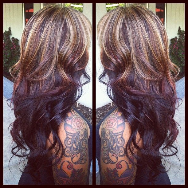 Trendy Hair Color Highlights At Leann T Renner I Really