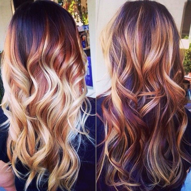 Trendy Hair Color Highlights 2015 Brown Hair Color Trends
