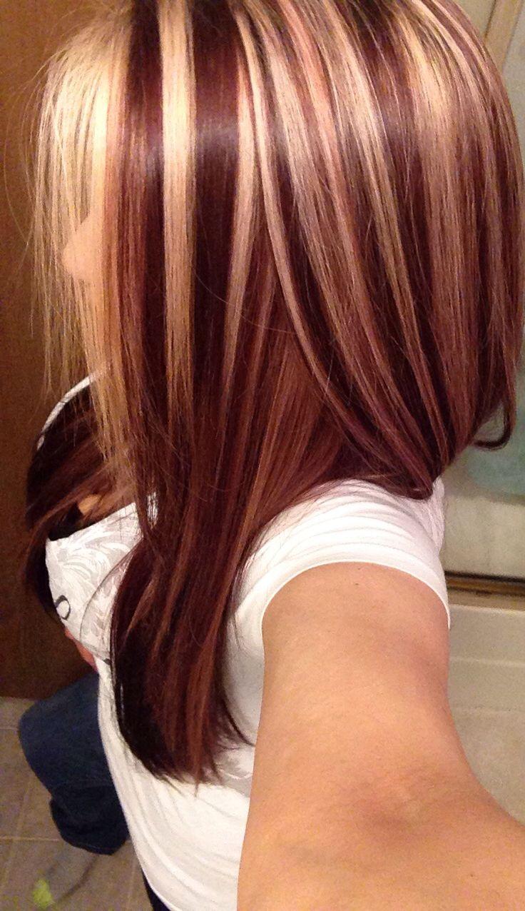 Trendy Hair Color Highlights 4 Slice Highlight Beauty Haircut
