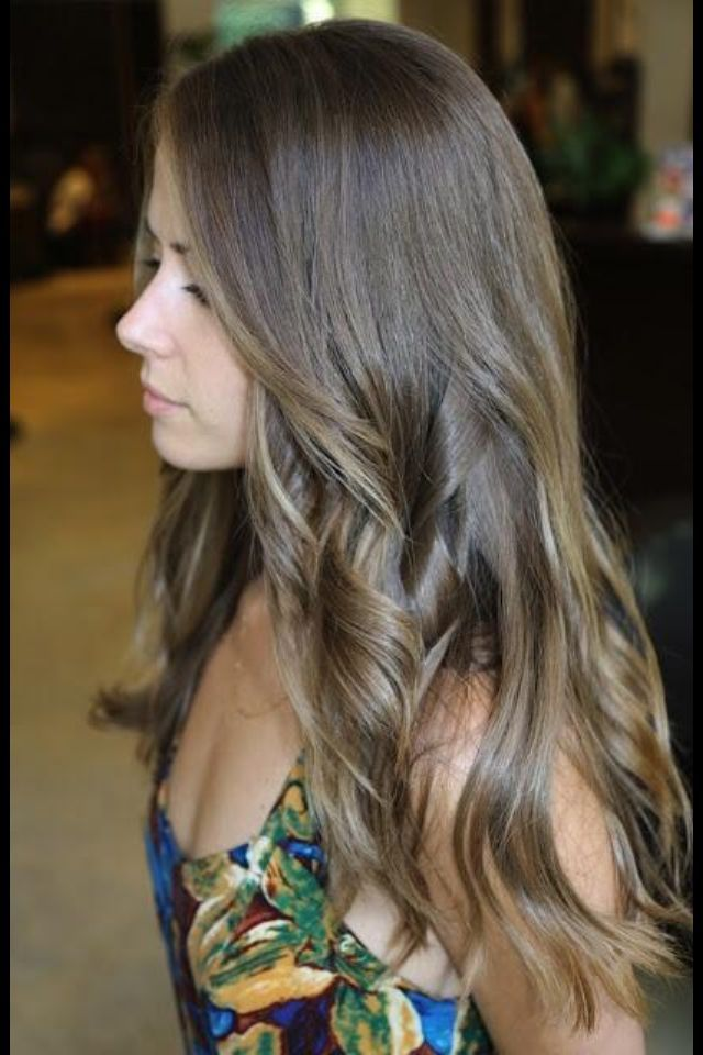 Trendy Hair Color Highlights Ash Brown With Ash Blonde Highlights