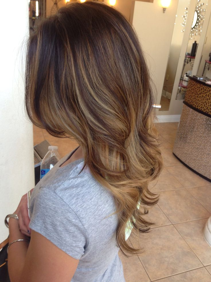 Trendy Hair Color Highlights Balayage Honey Blonde Ash Blonde