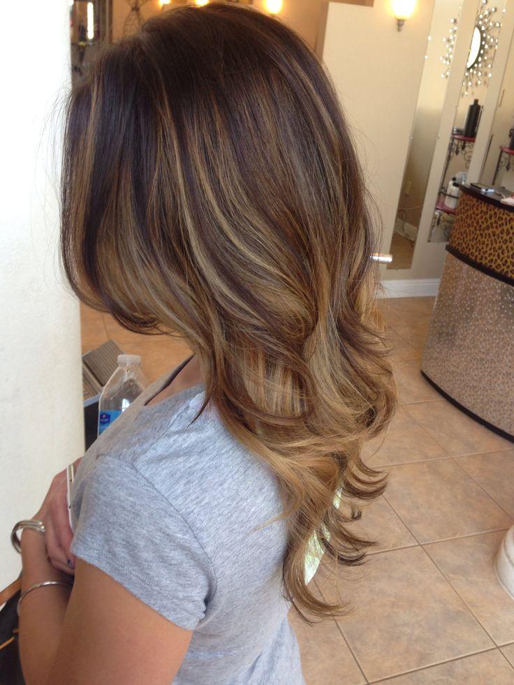 Trendy Hair Color Highlights Balayage Honey Blonde Ash Blonde