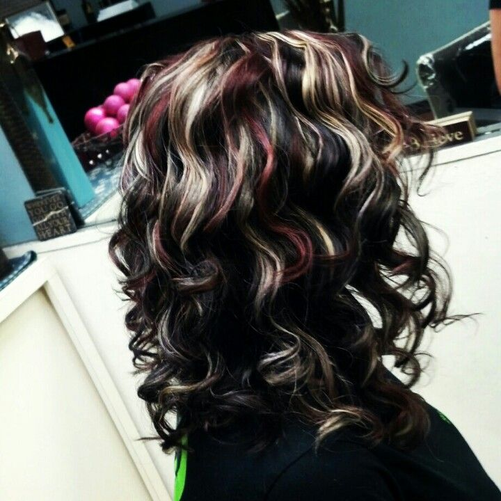 Trendy Hair Color Highlights Beautiful Hair Dark Brown Base