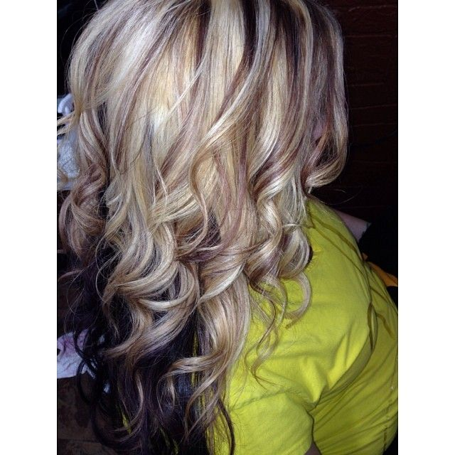 Trendy Hair Color Highlights Blonde And Brown Highlights With A