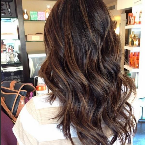 Trendy Hair Color Highlights Brown Balayage Beauty Haircut