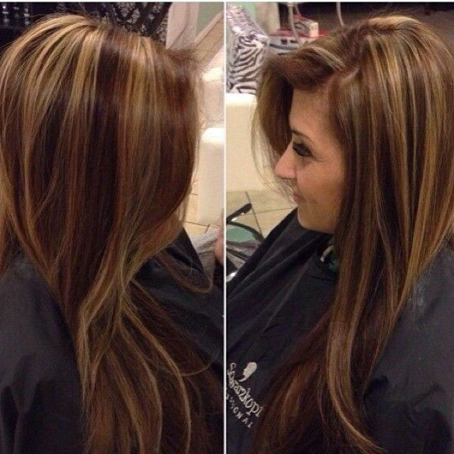 Trendy Ideas For Hair Color Highlights Chocolate Brown With