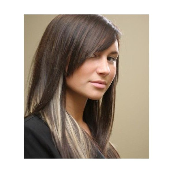 Trendy Hair Color Highlights Edgy Peek A Boo Blonde Highlights
