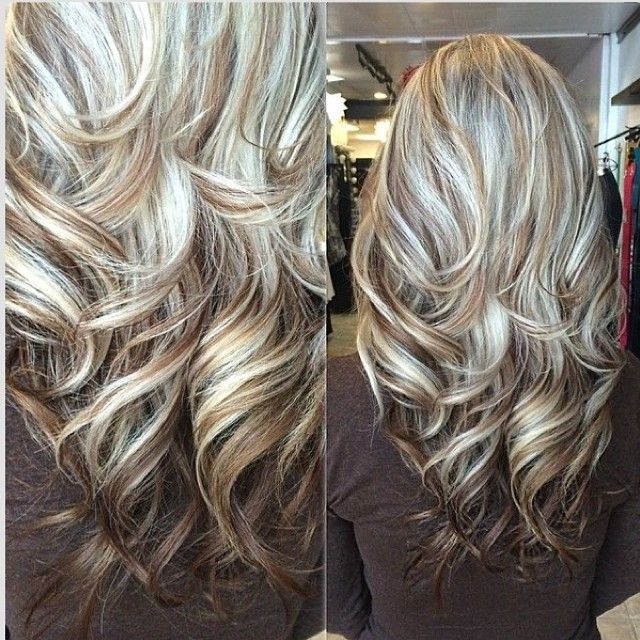 Trendy Hair Color Highlights Great Highlight Lowlight Mix
