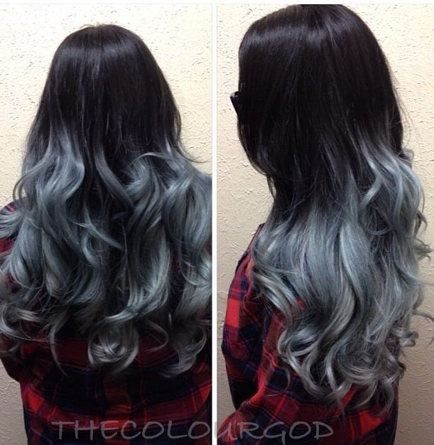 Trendy Hair Color Highlights Grey Ombre Beauty Haircut Home